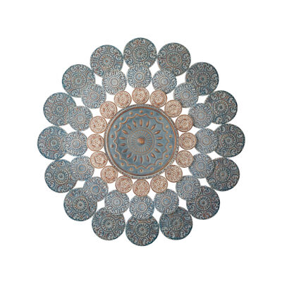 Regal Medallion Metal Outdoor Wall Decor