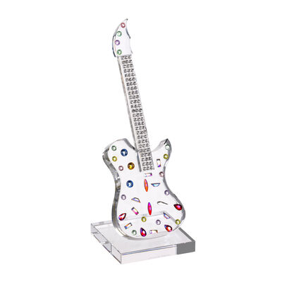 "Judith Ripka ""Gemstone"" Crystal Guitar Figurine"