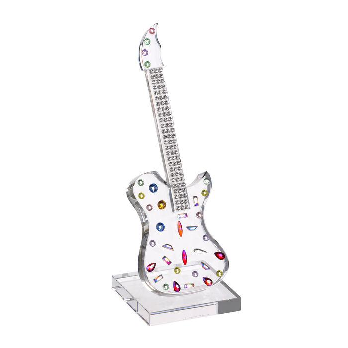 "Judith Ripka ""Gemstone"" Crystal Guitar Figurine"