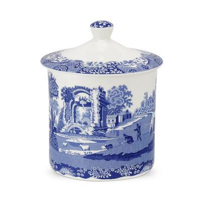 "Spode ""Blue Italian"" Storage Jar"