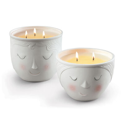 "Lladro ""Better Together"" Set of 2 Candles"