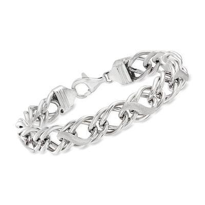 Italian Sterling Silver Multi-Link Bracelet