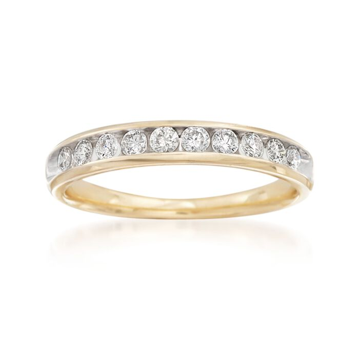 .50 ct. t.w. Diamond Wedding Ring in 14kt Yellow Gold