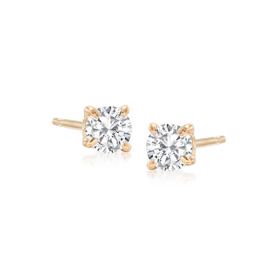 .33 ct. t.w. Diamond Stud Earrings in 14kt Yellow Gold