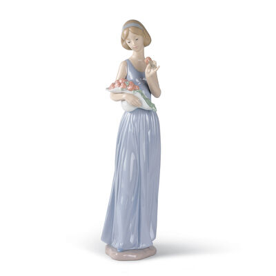 "Nao ""My Little Bouquet"" Porcelain Figurine"