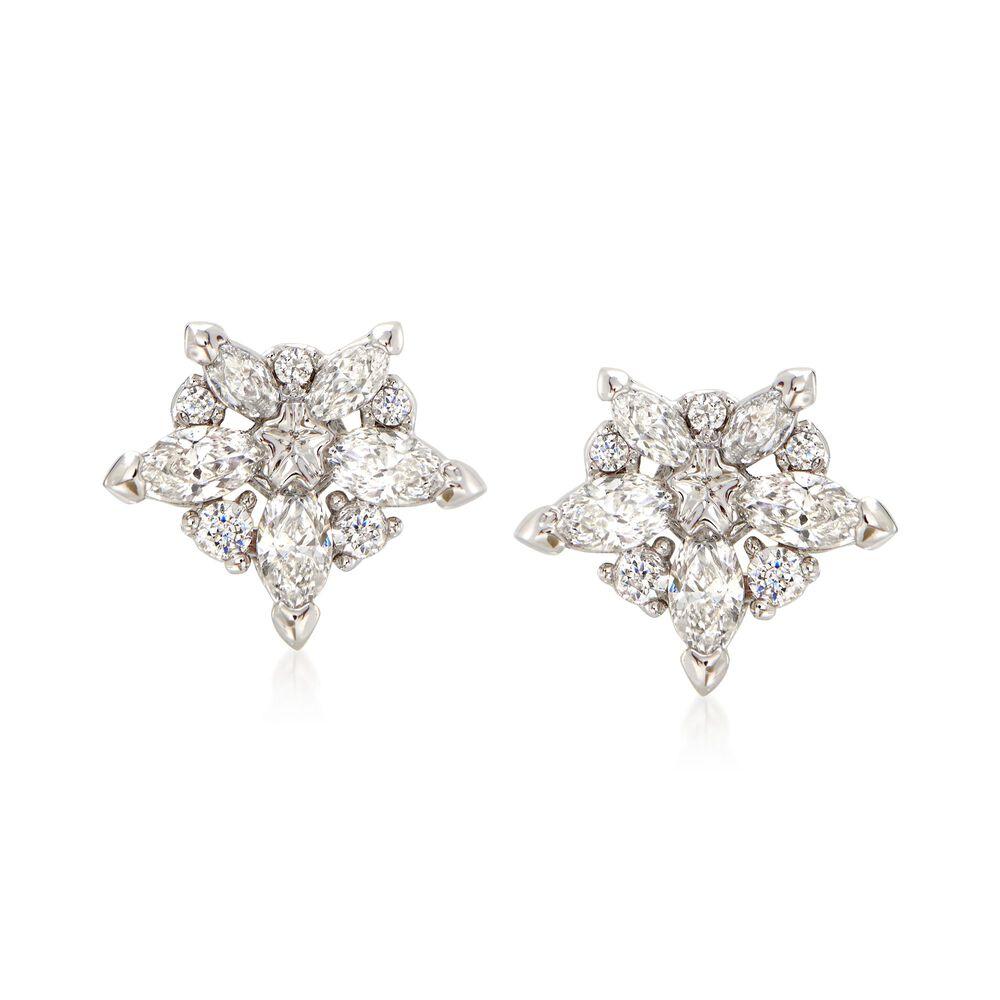 05a476260 Swarovski Crystal Star Earrings - Best All Earring Photos ...