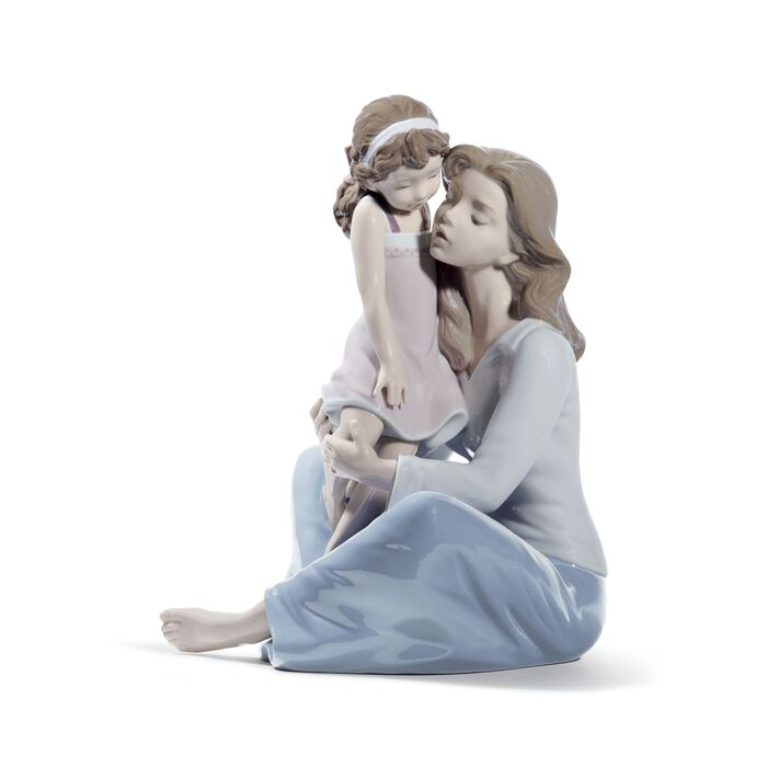 "Lladro ""Mommy's Little Girl"" Porcelain Figurine, , default"