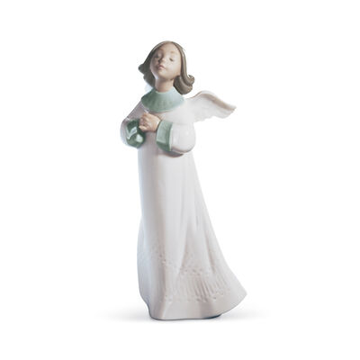 "Lladro ""Angel Wish"" Porcelain Figurine, , default"