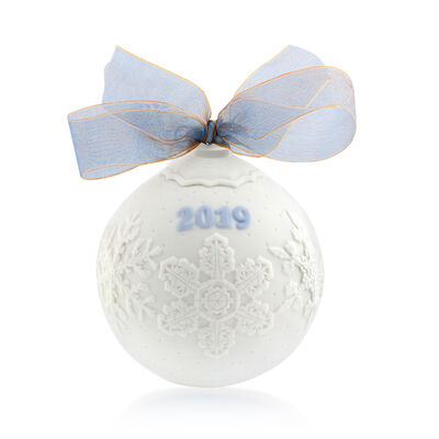 Lladro 2019 Annual Porcelain Ball Ornament, , default