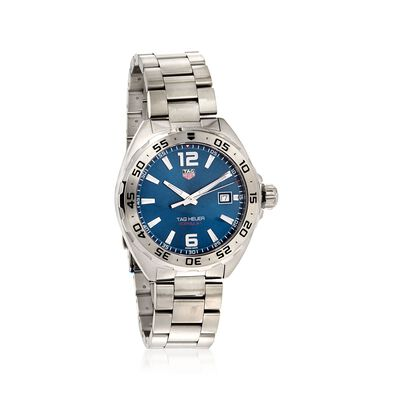 TAG Heuer Formula 1 Men's 41mm Stainless Steel Watch - Blue Dial , , default