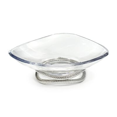 "Nambe ""Braid"" Glass Centerpiece Bowl, , default"