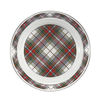 "Golden Rabbit ""Highland Plaid"" Large Serving Tray                                                                                                                                , , default"