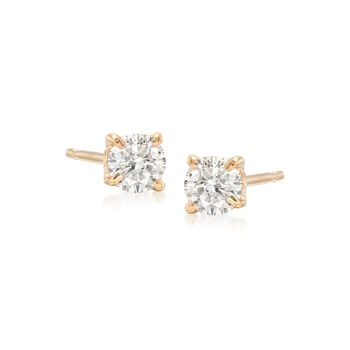 .33 ct. t.w. Diamond Stud Earrings in 14kt Yellow Gold , , default