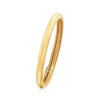 18kt Yellow Gold Twisted Ring
