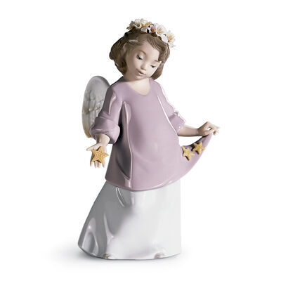 "Lladro ""Heavenly Stars"" Porcelain Figurine"