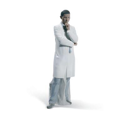 "Lladro ""Male Doctor"" Porcelain Figurine, , default"