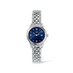 Longines Flagship Women's 30mm Automatic Stainless Steel Watch - Blue Dial, , default
