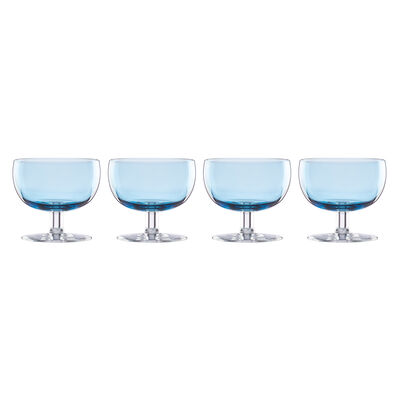 "Lenox ""Valencia"" Set of 4 Blue Cocktail Glasses, , default"