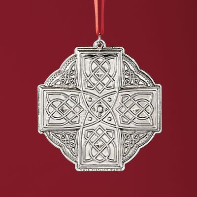 Towle 2018 Annual Sterling Silver Celtic Ornament - 19th Edition, , default