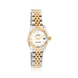 Certified Pre-Owned Rolex Datejust Women's 26mm Automatic Watch in Two-Tone, , default