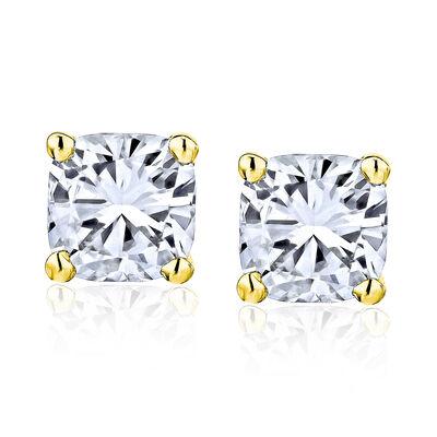 .95 ct. t.w. Diamond Stud Earrings in 14kt Yellow Gold