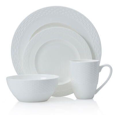 """Mikasa """"Ortley"""" 16-pc. Service for 4 Dinnerware Set"""