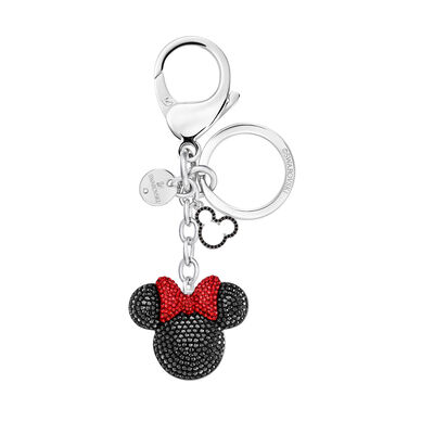 Swarovski Crystal Disney Minnie Mouse Bag Charm