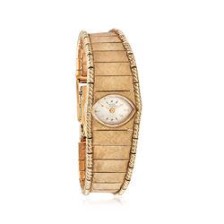C. 1960 Vintage Lucien Piccard 12mm 14kt Yellow Gold Watch, , default