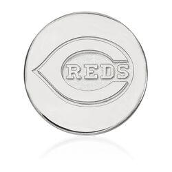 14kt White Gold MLB Cincinnati Reds Lapel Pin, , default