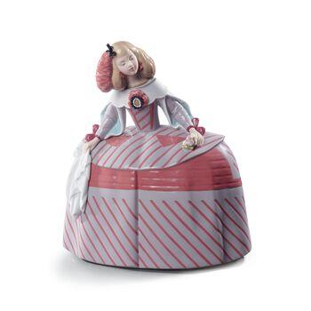 """Lladro """"Sweet Menina"""" Porcelain Figurine, , default"""