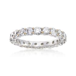 C. 2000 Vintage 2.75 ct. t.w. Diamond Eternity Band in 18kt White Gold. Size 7, , default