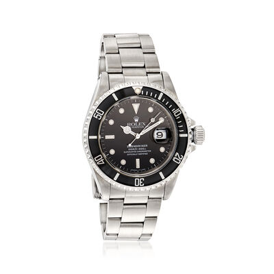 Certified Pre-Owned Rolex Submariner Men's 40mm Automatic Watch in Stainless Steel, , default