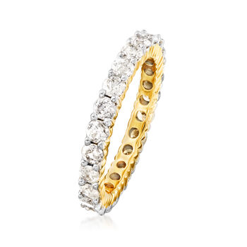 2.00 ct. t.w. Diamond Eternity Band in 14kt Yellow Gold. Size 6, , default