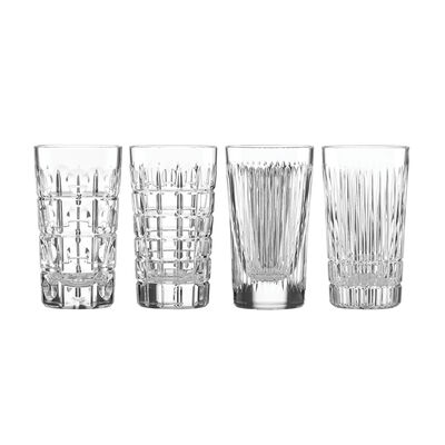 "Reed & Barton ""New Vintage"" Set of 4 Highball Glasses, , default"