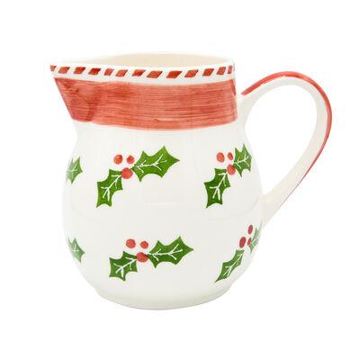 "Euro Ceramica ""Natal"" Pitcher"