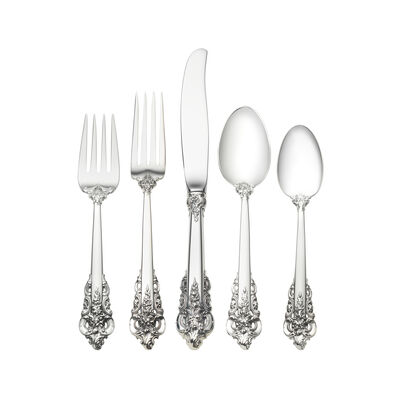 "Wallace ""Grande Baroque"" Sterling Silver Dinner Setting"