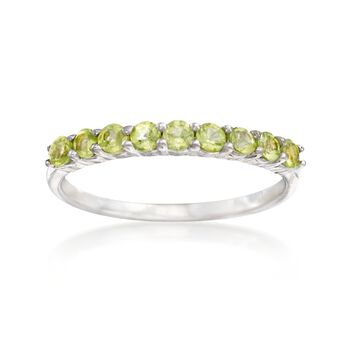 .60 ct. t.w. Peridot Ring in Sterling Silver, , default