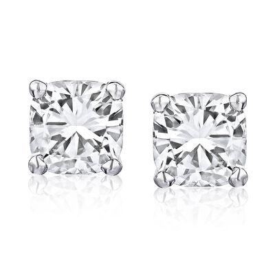 .48 ct. t.w. Diamond Stud Earrings in 14kt White Gold