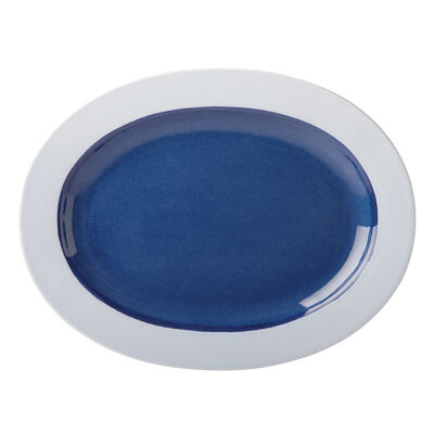 "Kate Spade New York ""Nolita"" Blue Oval Platter"