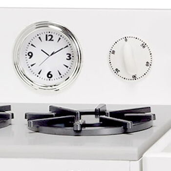 Child's Little Chef Chelsea Modern Play Kitchen in White, , default