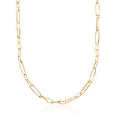 Roberto Coin 18kt Yellow Gold Link Necklace, , default