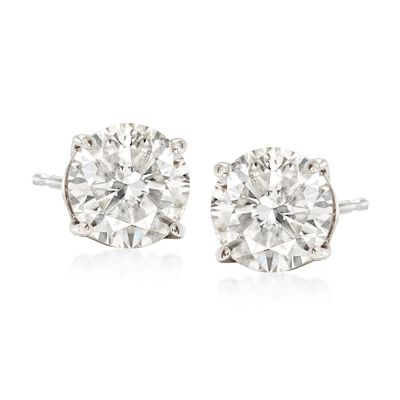 2.00 ct. t.w. Diamond Stud Earrings in Platinum, , default