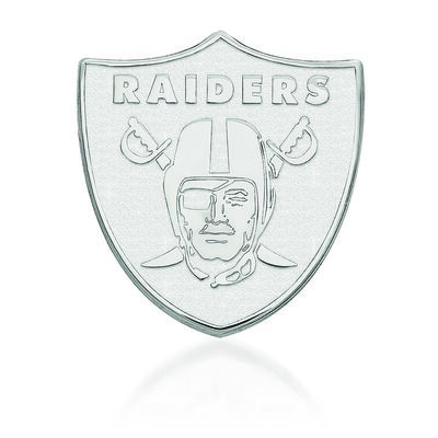 Sterling Silver NFL Oakland Raiders Lapel Pin, , default