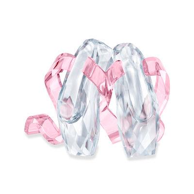 Swarovski Crystal Ballet Shoes Figurine, , default