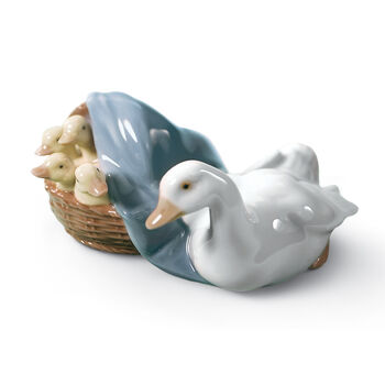 "Lladro ""Ducks"" Porcelain Figurine, , default"