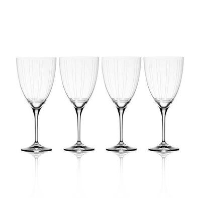 "Mikasa ""Berlin"" Set of 4 Red Wine Glasses"