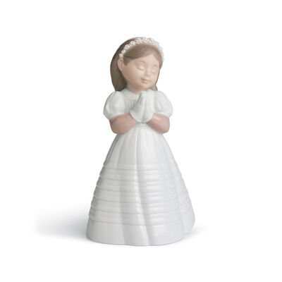"Nao ""My First Communion"" Porcelain Figurine, , default"
