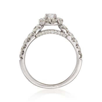 Henri Dausi 1.45 ct. t.w. Diamond Ring in 18kt White Gold, , default