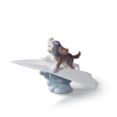 "Lladro ""Let's Fly Away"" Porcelain Figurine, , default"