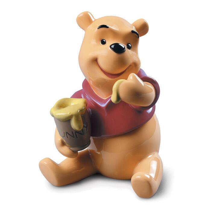 "Lladro ""Winnie the Pooh"" Porcelain Figurine"